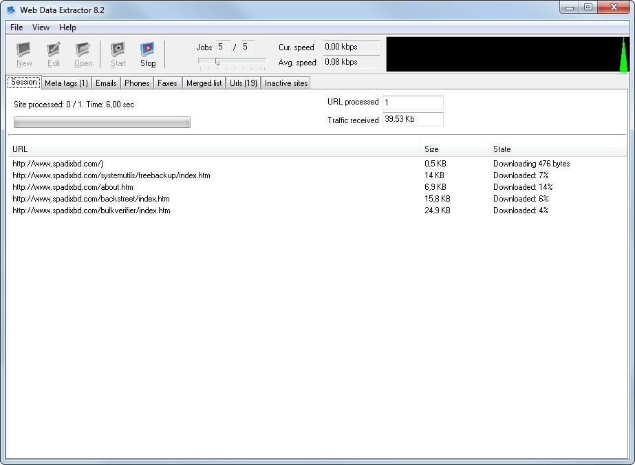 Web Data Extractor Crack Serial key