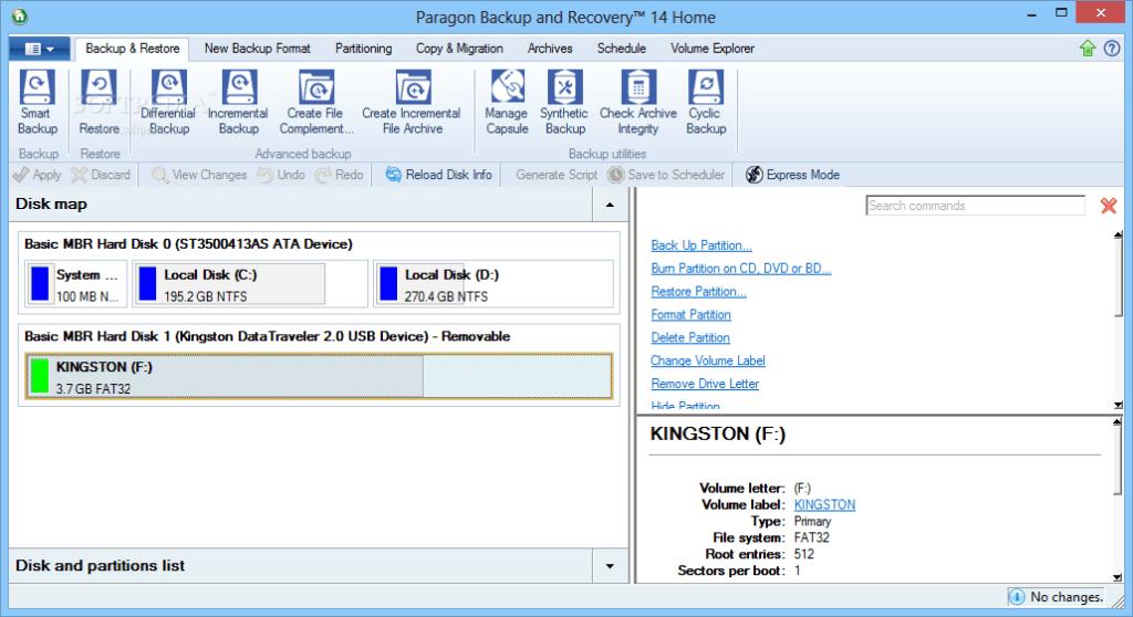 Paragon Backup & Recovery PRO Serial Key