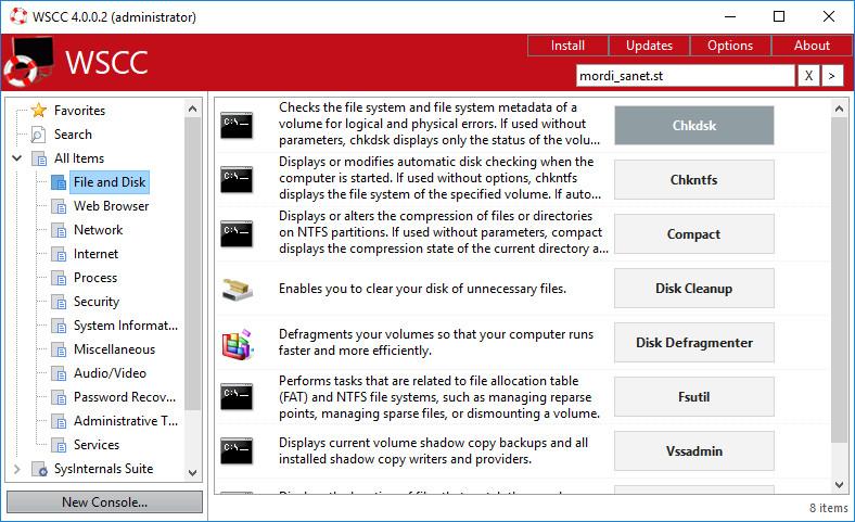 WSCC - Windows System Control Center Crack Serial Key