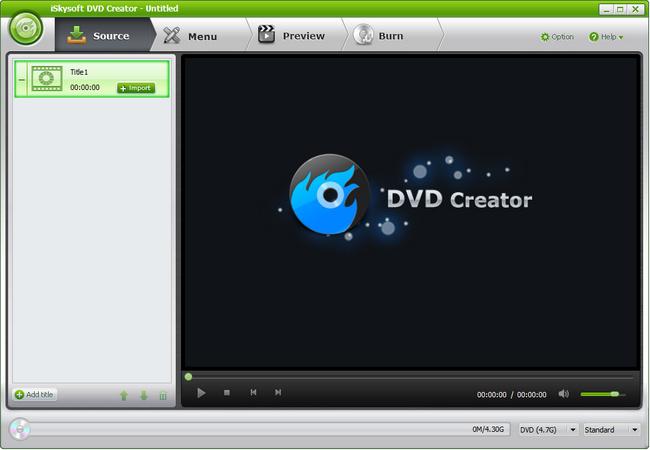 iSkysoft DVD Creator Crack Serial Key