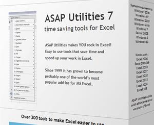 ASAP Utilities Carck