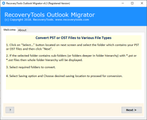 RecoveryTools Outlook Migrator Crack Serial Key