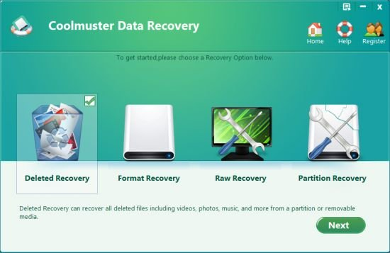 Coolmuster Data Recovery license Key