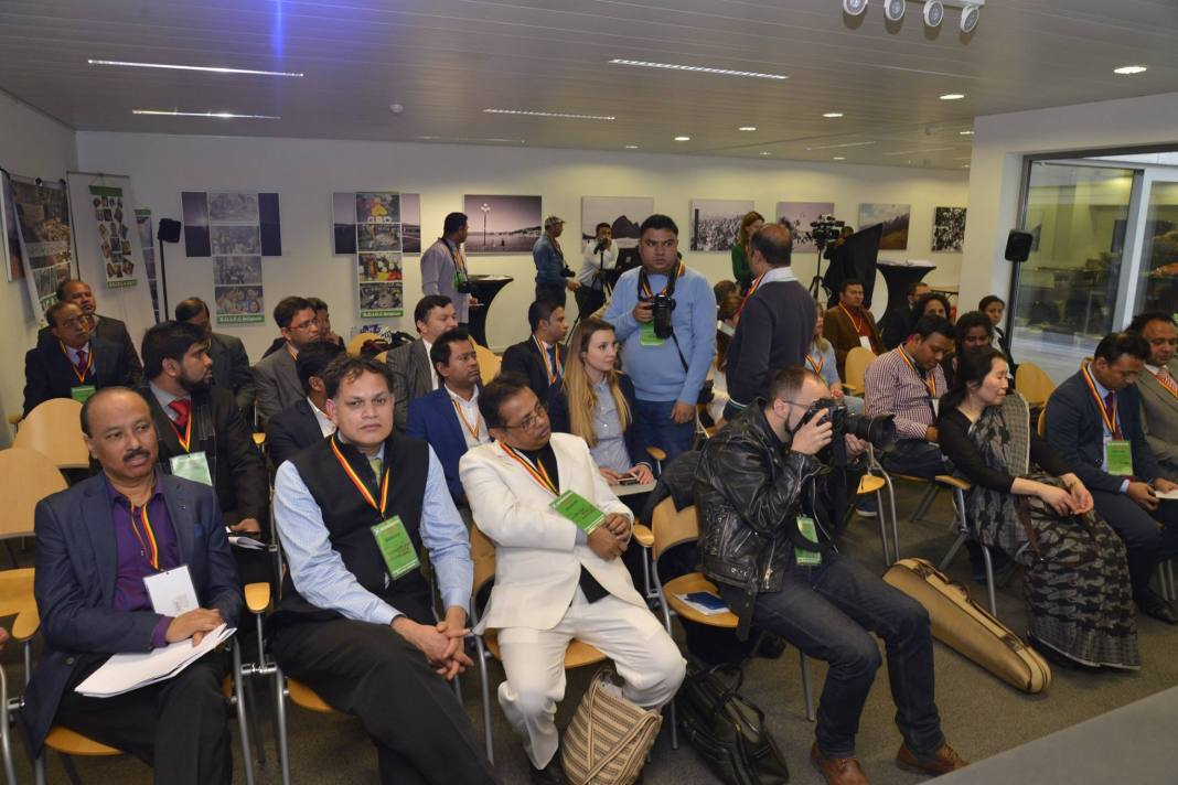 """, EVENT: """"Brussels and Dhaka's Solidarity for Peace"""""""