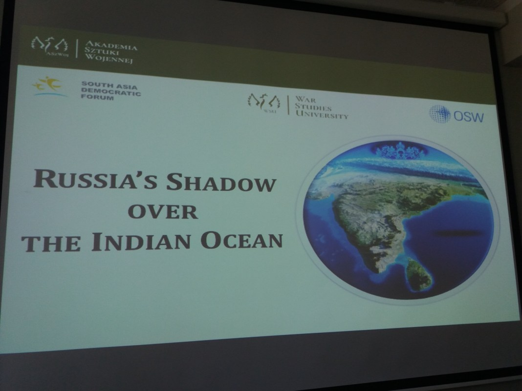 , SADF EVENT: 'Russia's Shadow over the Indian Ocean'