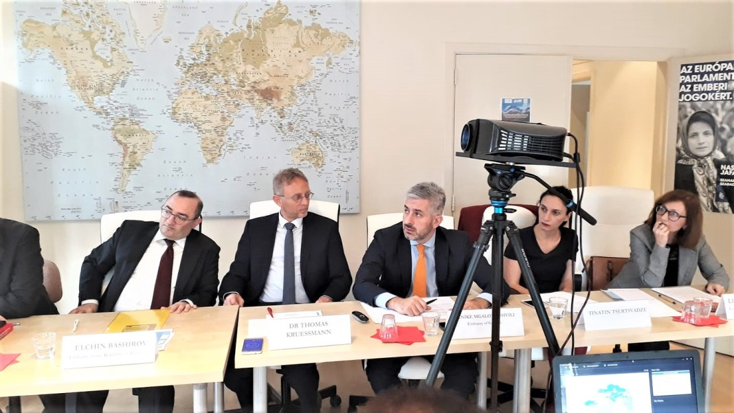 , SADF Round Table 'Exploring opportunities for cooperation between Europe and South Asia in the South Caucasus region'