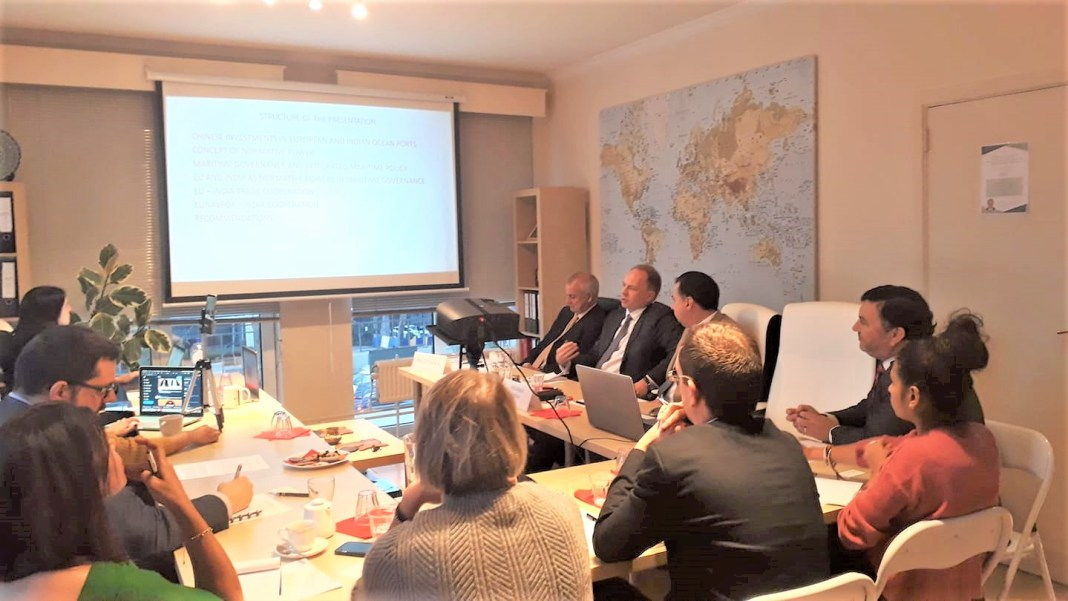 , SADF Round Table on 'Normative powers in maritime affairs: India-EU cooperation in the Indian Ocean region'