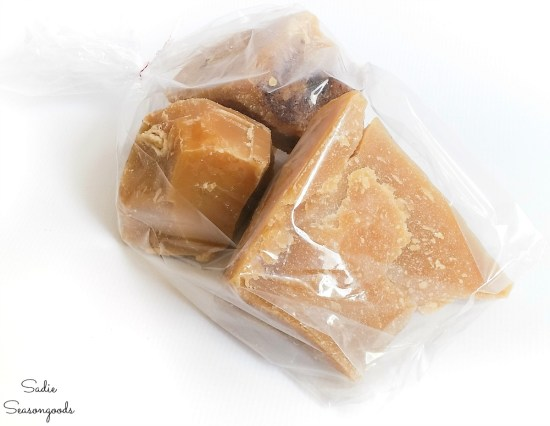 Local beeswax that is raw and needs to be filtered