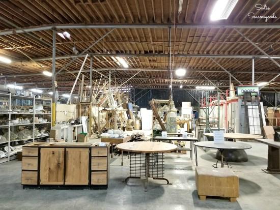 Reuse Warehouse Durham for getting reclaimed wood durham nc by Sadie Seasongoods