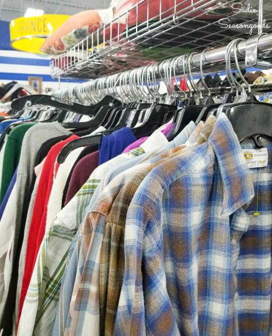 Mens shirts with pockets at Goodwill