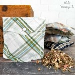 Scented Sachets from Shirt Pockets as Handmade Gifts for Him