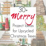 30+ Upcycling Ideas for Alternative Christmas Trees
