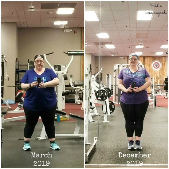 Losing 25 pounds for a woman in her 40s with regular cardio workouts and a strength training program