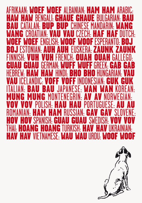 Woof-in-many-languages