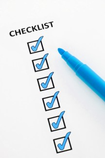 Policy renewal checklist