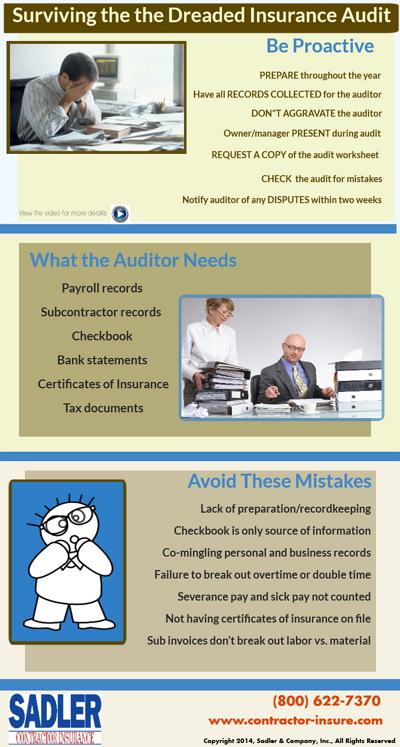 Insurance audit