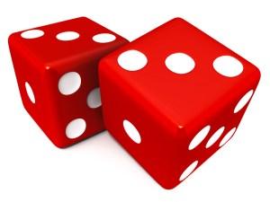Gambling dice