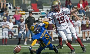 Concussions in youth tackle football