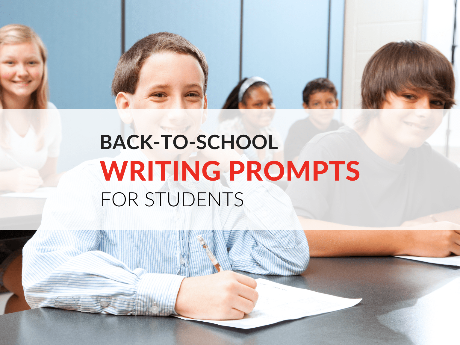 Back To School Writing Prompts Includes Printable Worksheets
