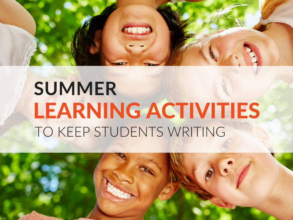 10 Summer Learning Activities That Keep Kids Writing Free
