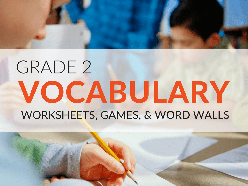 2nd Grade Vocabulary Worksheets [ 768 x 1024 Pixel ]