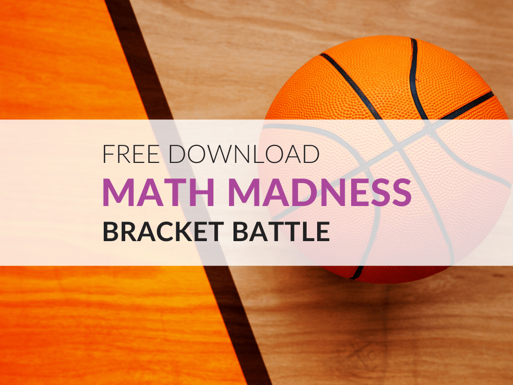 Free March Madness Math Worksheets Grades 1 6