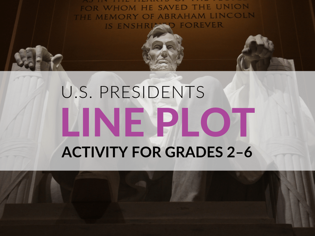 Presidents Day Activities U S Presidents Line Plot