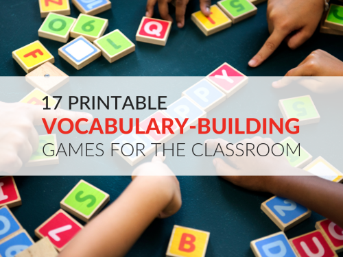 small resolution of 17 Printable Vocabulary-Building Games