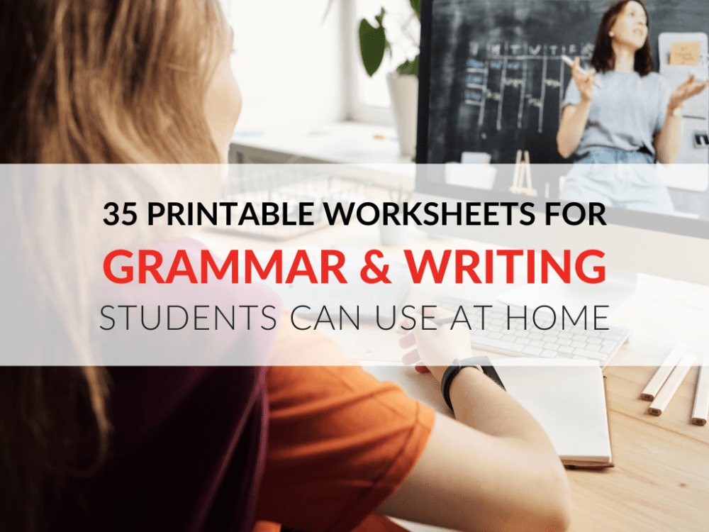 medium resolution of 35 Printable Grammar Worksheets That Improve Students' Writing At Home