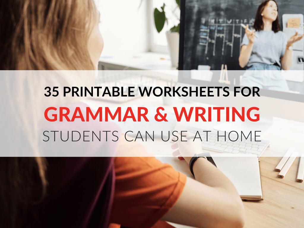 hight resolution of 35 Printable Grammar Worksheets That Improve Students' Writing At Home