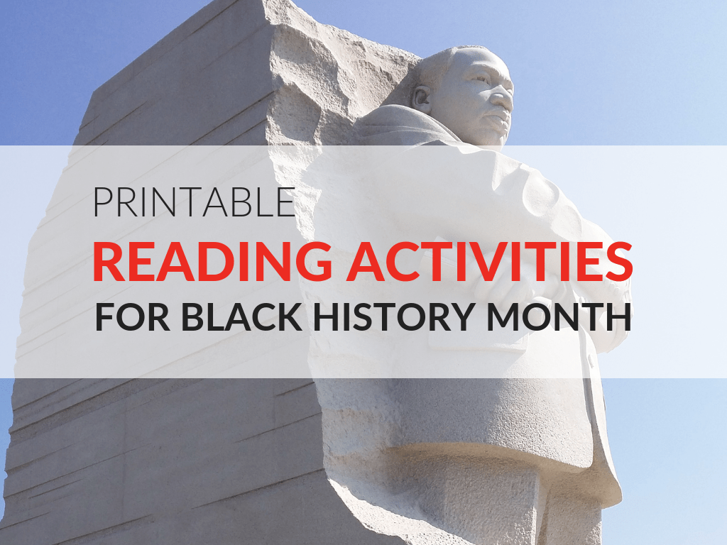 hight resolution of Printable Reading Activities for Black History Month