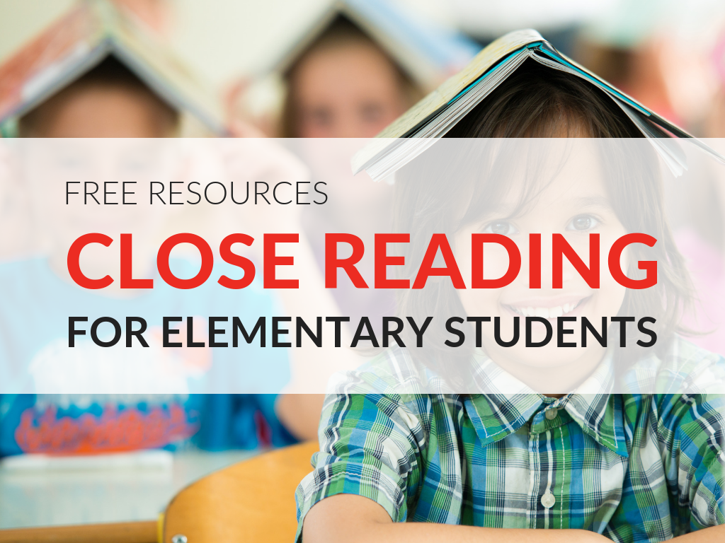 hight resolution of Close Reading Worksheets for Elementary Students 8 Printable Resources
