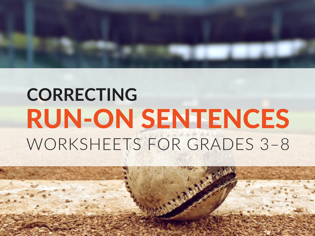 hight resolution of Run-on Sentence Practice Activity for Students