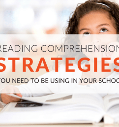 How To Teach Reading Comprehension Strategies In Your School Free  Worksheets [ 768 x 1024 Pixel ]