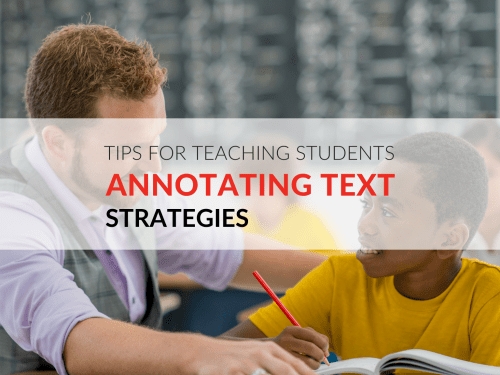 small resolution of Annotating Text Strategies That Will Enhance Close Reading Printable  Resources