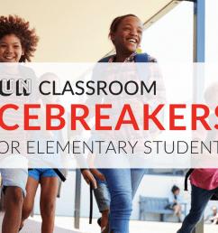 6 Fun Classroom Icebreakers for Elementary Students Onsite/Online [ 768 x 1024 Pixel ]