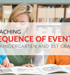 Teach Sequence of Events– Free Sequencing Worksheets for Kindergarten \u0026  Grade 1 [ 768 x 1024 Pixel ]