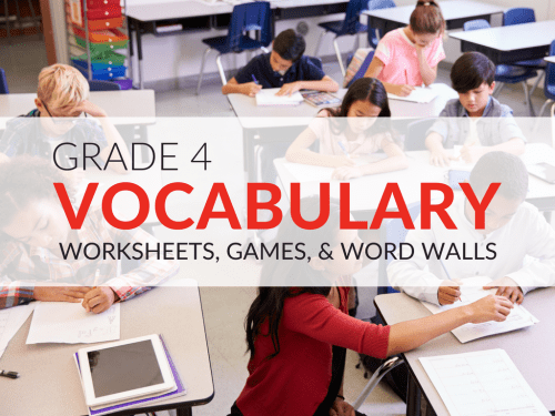 small resolution of 4th Grade Vocabulary Worksheets