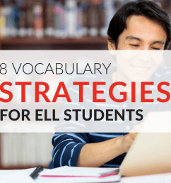 8 Strategies for Teaching ELL Students Vocabulary Words [ 768 x 1024 Pixel ]