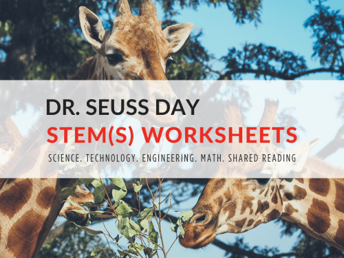 small resolution of Dr. Seuss Day STEM Worksheets for Elementary Students