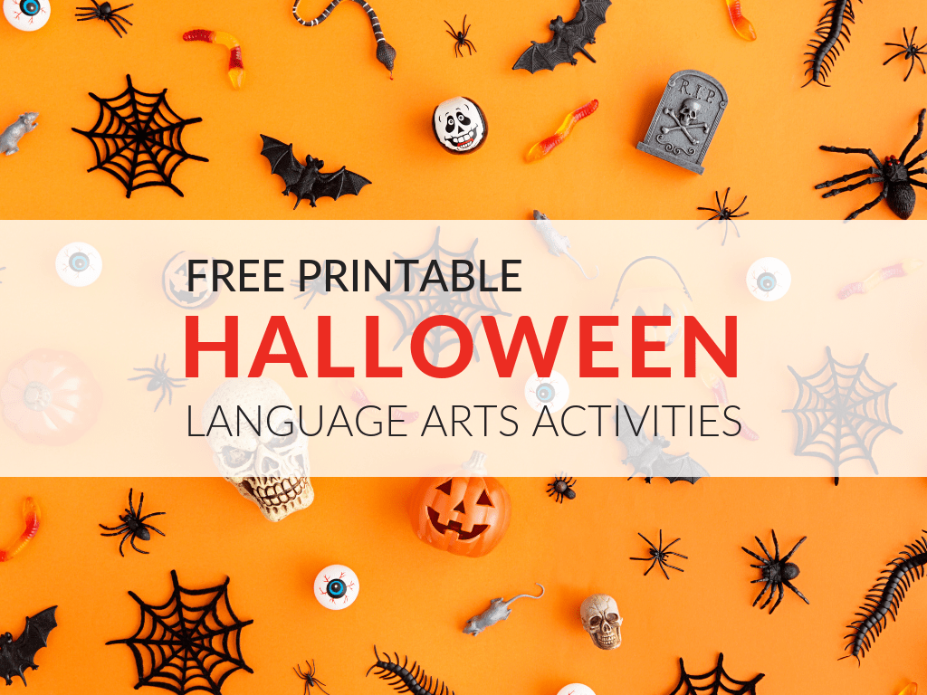 8 Free Ela Halloween Printable Activities
