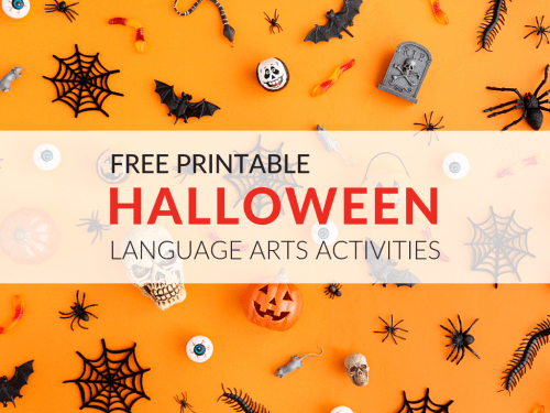 small resolution of 8 Free ELA Halloween Printable Activities