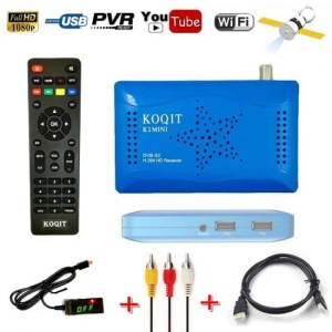FREE SHIPPING KOQIT HD 1080P DVB-S2 Satellite Receiver with PVR function & IPTV discount