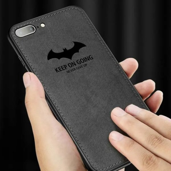 Phone Cases Luxury Cloth Phone Cases Ultra Thin Soft Silicone Cover For iphone X 10 Xs Max Xr 10
