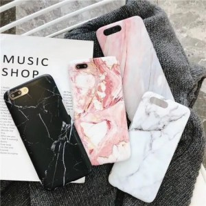 Phone Cases Case Cover Silicon Luxury Marble Phone Case For iPhone 7 Case For iPhone Models 7