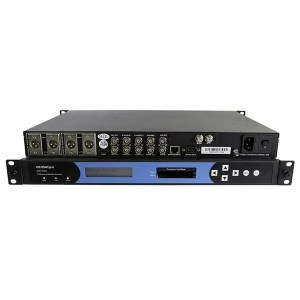 Receiver GEOSATpro DSR160ASI RACK MOUNT IRD WITH SDI AND ASI broadcast