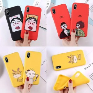 Phone Cases Cute Cartoon Letter Deer Smiley Face Soft TPU For iPhone Models Lovebay Phone Case Models