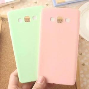 Phone Cases Ultra-thin Colorful Silicon TPU Soft Phone Cases For Samsung Galaxy Models Cases