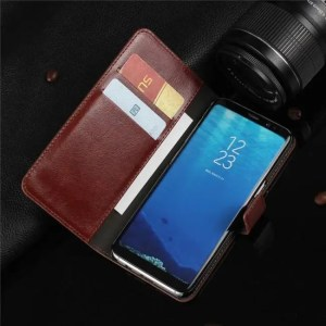 Phone Cases Case Leather Flip Wallet Cover for Samsung Galaxy S8 Plus S6 S7 Edge Case