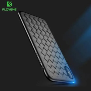 Phone Cases Super Soft Phone Cases For iPhone8 iPhoneX iPhoneXS Max Luxury Grid Cover Silicone Accessories Accessories